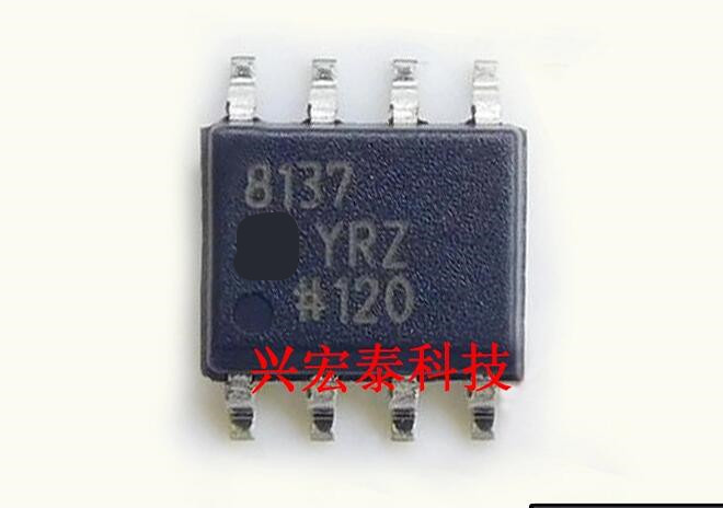 50pcs/lot 8137YRZ AD8137YRZ AD8137 SOP8 50pcs lot ao4614 ao4614b 4614 sop8 free shipping new ic