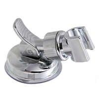 Cabezal de ducha ajustable soporte de estante soporte de succión taza de ducha soporte de ducha montado en la pared para accesorio de baño