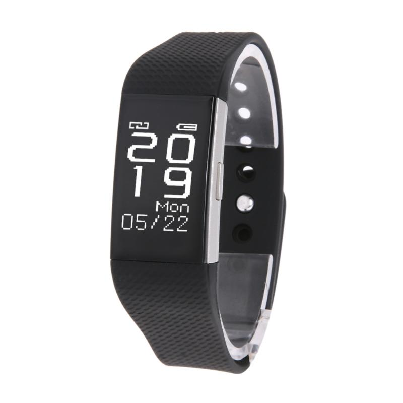 Smart Watch Bluetooth 4.0 USB Charger <font><b>IP67</b></font> Waterproof Heart Rate Sleep Monitor Fitness Tracker for IOS Android <font><b>Smartphone</b></font>