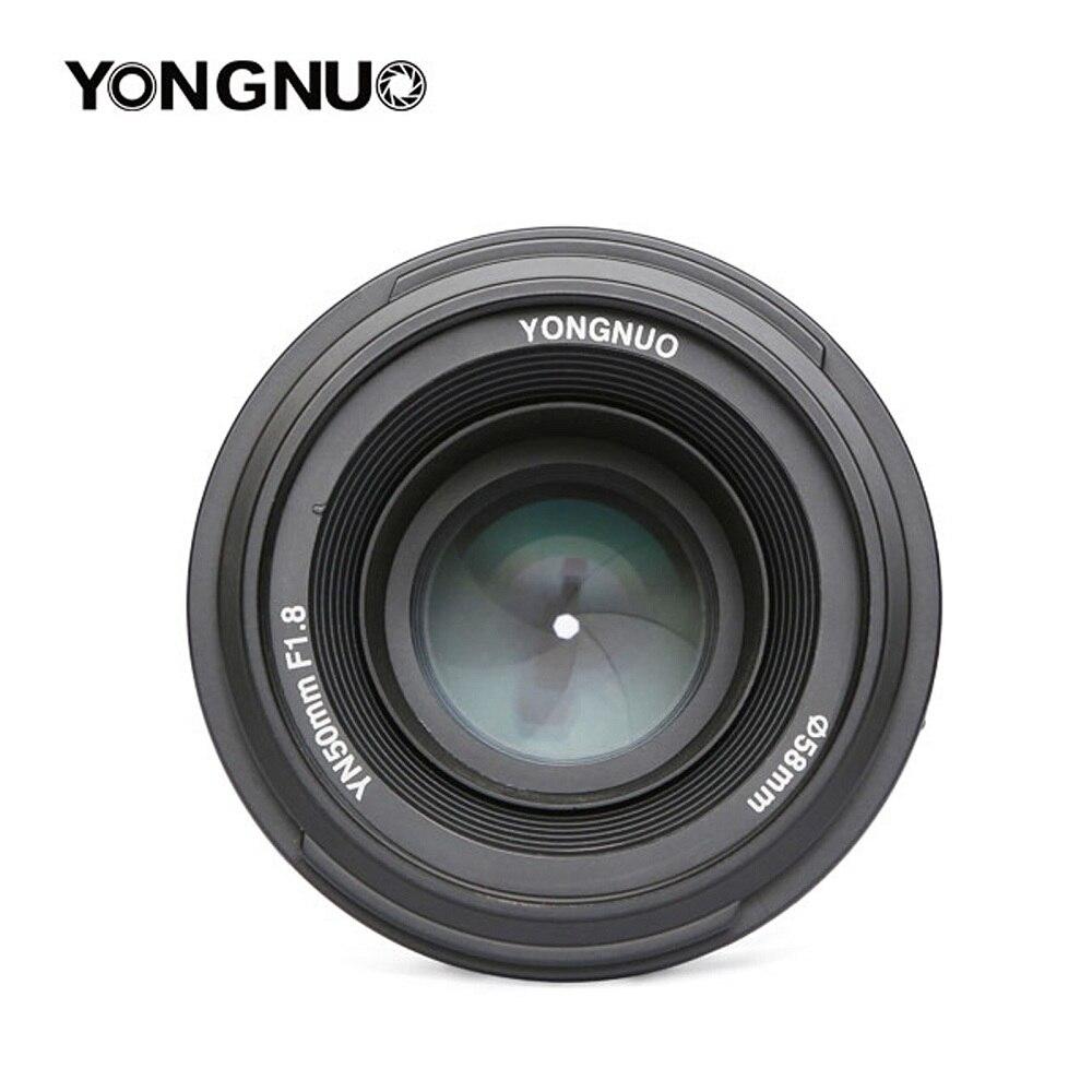 YONGNUO YN50mm F1.8 Grande Ouverture Auto Focus Lens Pour Nikon D800 D300 D700 D3200 D3300 D5100 D5200 D5300 DSLR Caméra lentille