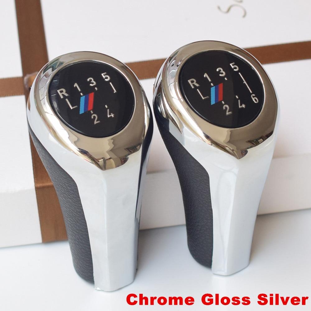 Image 2 - 5/6 Speed Gear Shift Knob Head Stick Shifter Lever Pen Handle HandBall For BMW E90 E60 E39 E36 E46 E87 E30 X5 E53 E34 E92 X1 X3-in Gear Shift Knob from Automobiles & Motorcycles