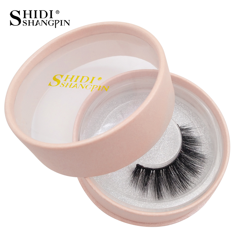 SHIDISHANGPIN 3d mink eyelashes natural long 3d mink eyelashes hand made false lashes 1 box makeup false eyelash 70 in False Eyelashes from Beauty Health