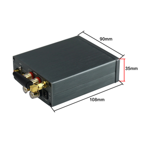 Image 5 - TPA3116 100 Вт * 2 Bluetooth цифровой усилитель, аудиомашина, автомобильный домашний кинотеатр с преусилителем, тоновый твитер, регулировка басов, DC24V