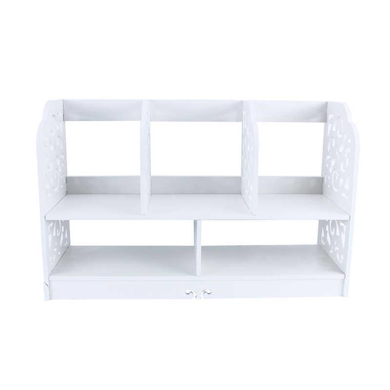 unid estantera estante de la esquina estante titular de almacenaje del estante de madera en