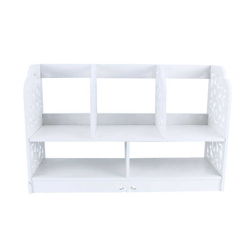 1Pc Bookcase Shelf Corner Shelf  Wooden Shelf Storage Holder In Stock