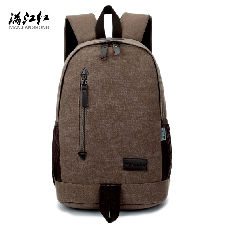 Fashion Design Manjianghong Canvas Backpack Chinese Man's Backpack Bag University Students' Leisure School Bag Mochila Bag 1265 dieting practices among ahfad university for women students