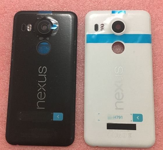 Original back Cover battery cover  For LG Google Nexus 5X H790 white/black/blue Free Shipping