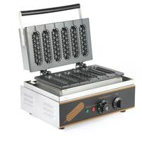 commercial professional muffin hot dog machine/lolly waffle maker/muffin machine/snack machine with high quality