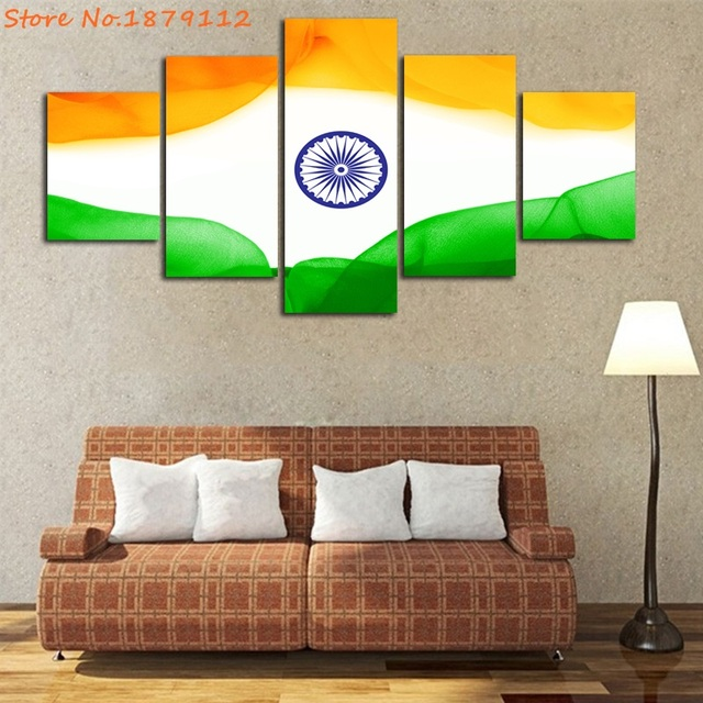 india independence day flag hd printings not framed painting modern