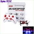 Syma X11C RC Мультикоптер drone с Камерой HD 2.0MP вертолет Квадрокоптер Блюдце Дроны RTF Как X5C H6C U818A дрон