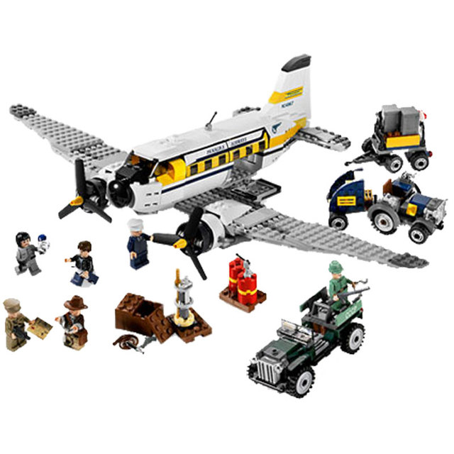 Legoing City Creator Adventures Of The Indiana Jones Peru Set
