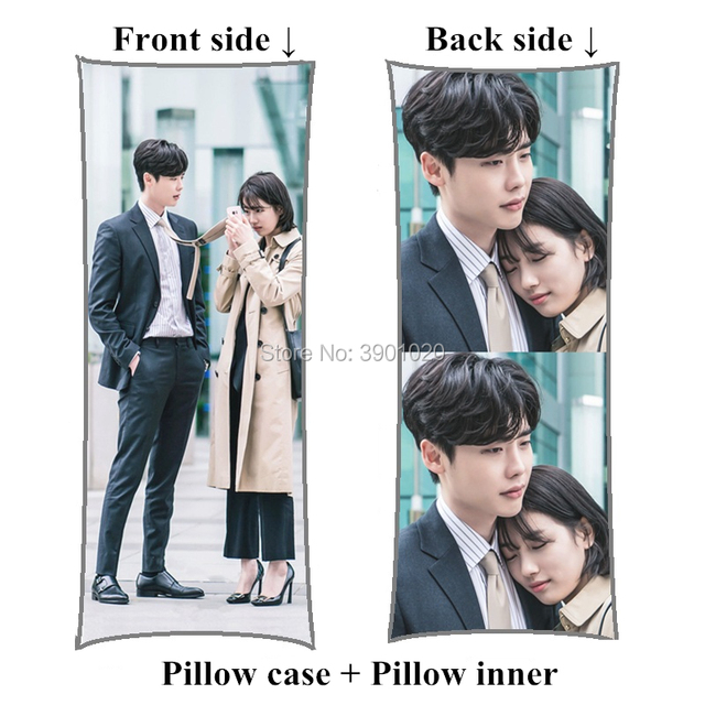 US $45 85 |New korea drama While You Were Sleeping long pillows custom Lee  Jong Suk Body Pillow -in Decorative Pillows from Home & Garden on