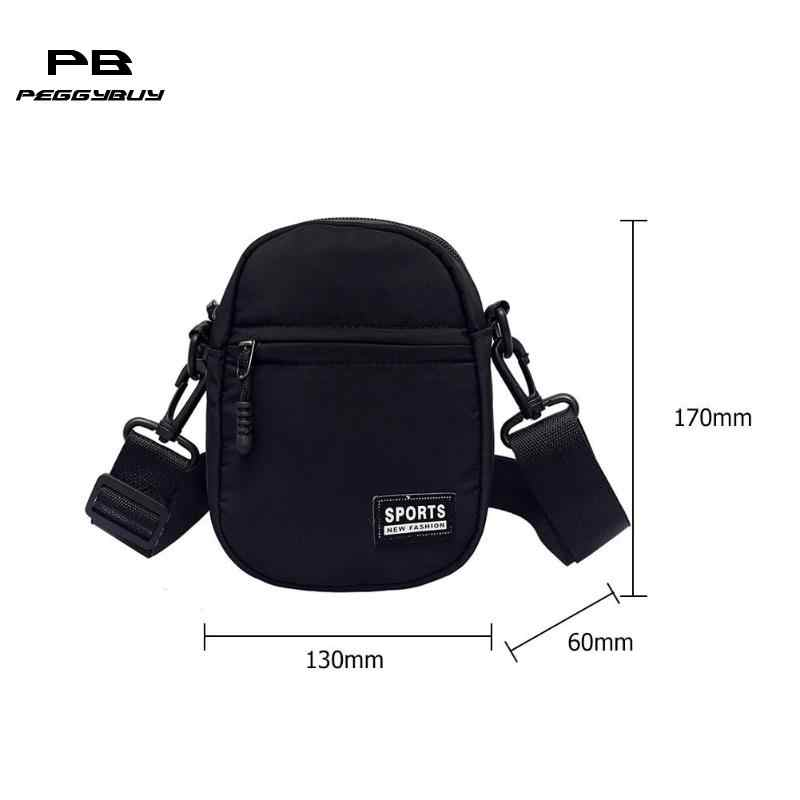 ... Men Women Messenger Bags Nylon Mini Crossbody Bag Unisex Shoulder Bag  Fashion Small Handbags modis ... 0eb0e8029cb7a