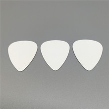 Cheapest Plastic Celluloid Guitar Picks 0.46mm Thin to 1.5mm Extra Heavy Gauge Plain White Color for Guitar