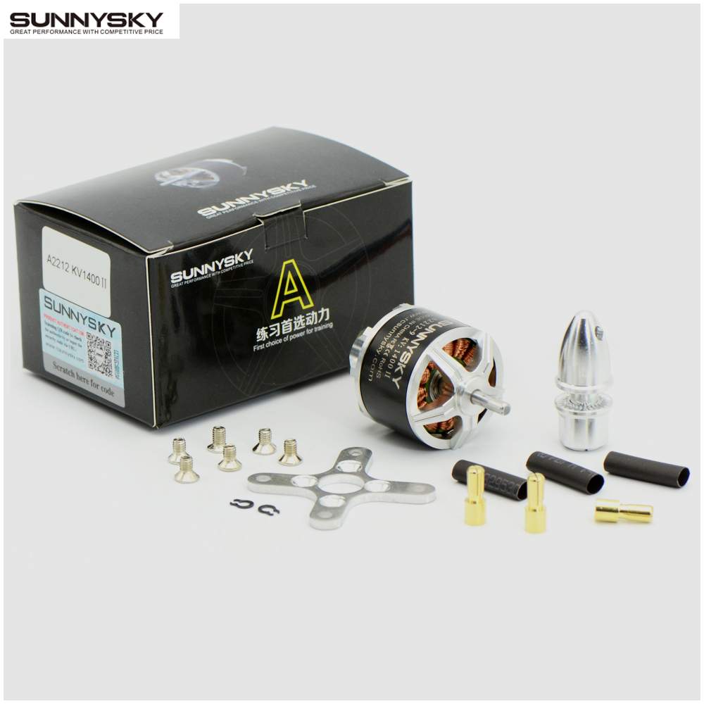 Silver A2212 1400Kv Brushless Outrunner Motor pour RC Aircraft Quadcopter
