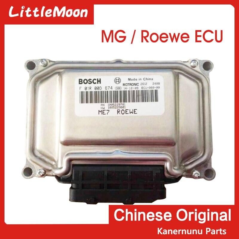 LittleMoon Original neuf moteur l'ordinateur ECU F01R00DF54 ME7 pour Roewe 350 360 550 750 MG3 MG5 MG6