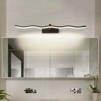 Chandelierrec Modern LED Bathroom Wall Lights AC90 260V Cosmetic Mirror Lights LED Waterproof Lampara de espejo de maquillaje