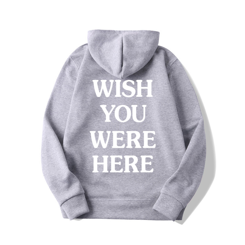 TRAVIS SCOTT ASTROWORLD WISH YOU WERE HERE HOODIES fashion letter ASTROWORLD HOODIE streetwear Man woman Pullover Sweatshirt 23