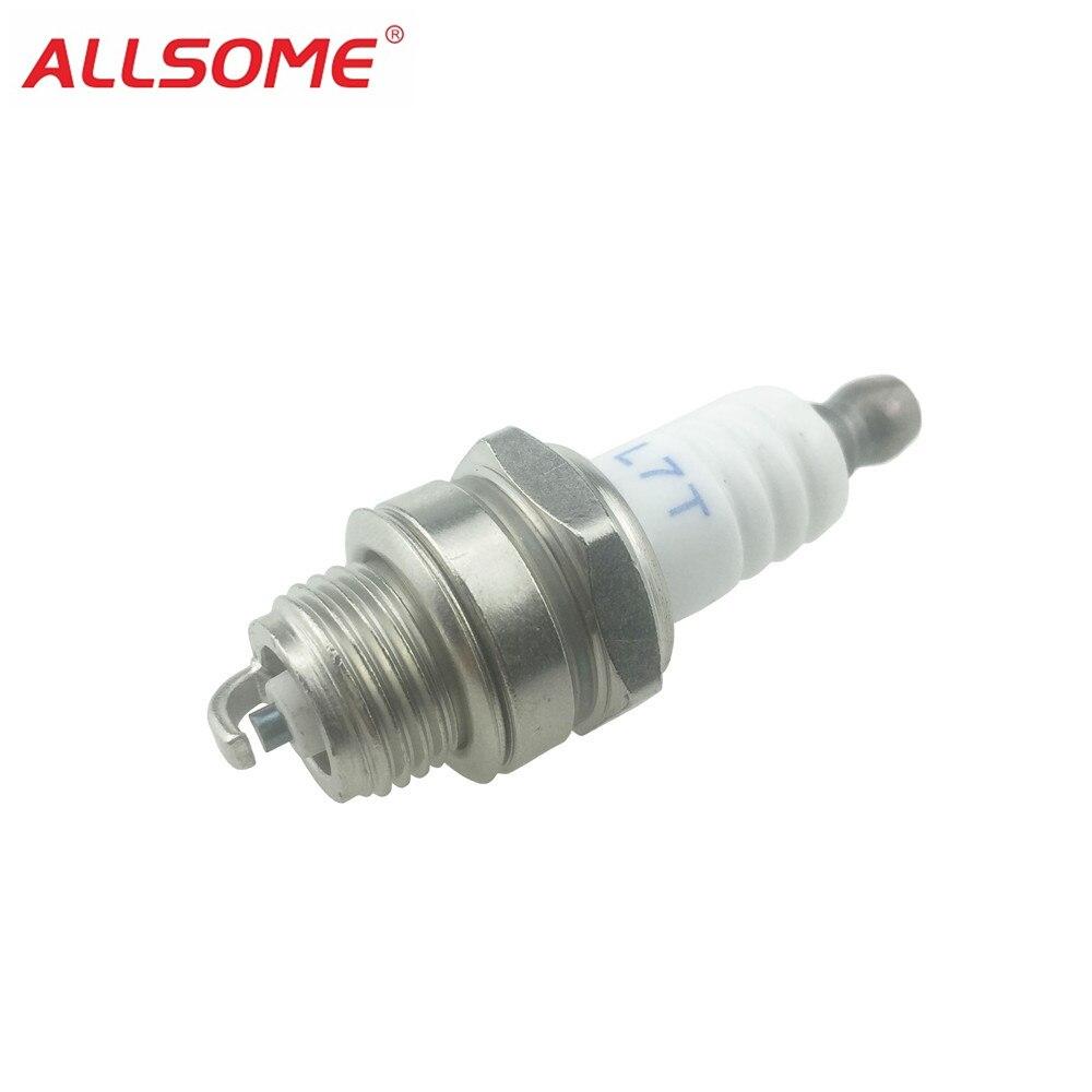 ALLSOME Lawn Mower Spark Plug Garden Lawnmower Chainsaw Spark Plug Engine Accessories For Chainsaw Parts HT1654+