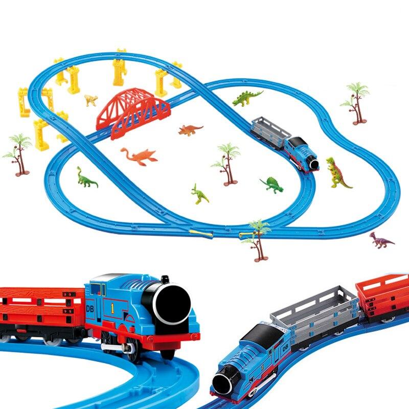 45 pièce/ensemble série de la ville la série de Train de fret mis modèle blocs de construction briques RC Train enfants jouets éducatifs cadeau pour enfant