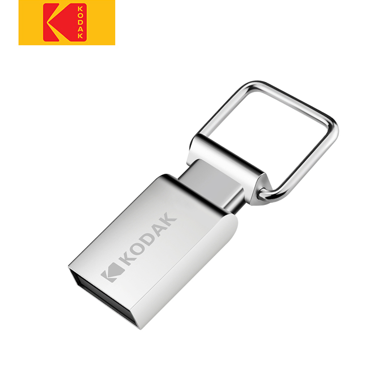 Kodak  Flash Drive USB K112 Mini Metal USB Flash Drive 16GB 32GB 64GB Flash Memory Stick Pen Drive U Disk USB2.0 Pendrive