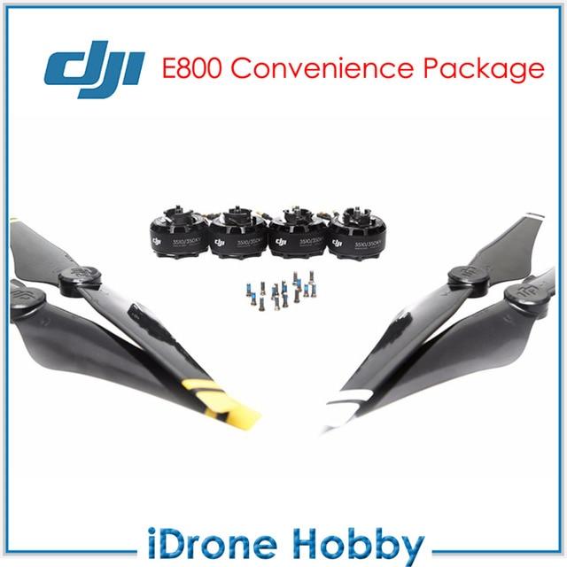 Original DJI E800 Conveniência Pacote 2 Pairs 3510 Motores + 2 Pares 1345  Adereços Com Parafuso
