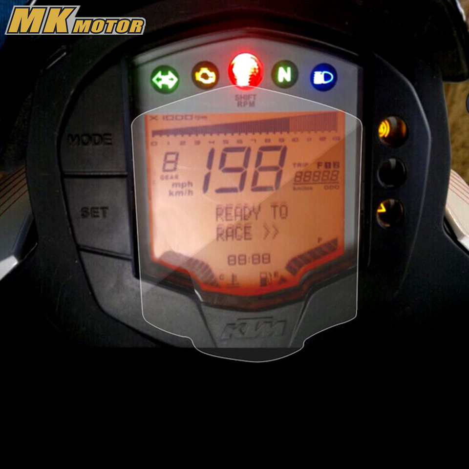 Cluster Scratch Speedometer Film Screen Protection Protector Sticker Motorcycle For KTM Duke 200 390 for ktm 390 duke motorcycle leather pillon passenger rear seat black color