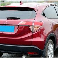 Car Accessories For Honda Vezel HR V HRV 2014 2015 2016 ABS Chrome Exterior Rear Tail Light Lamp Taillight Cover Trim Frame 4Pcs