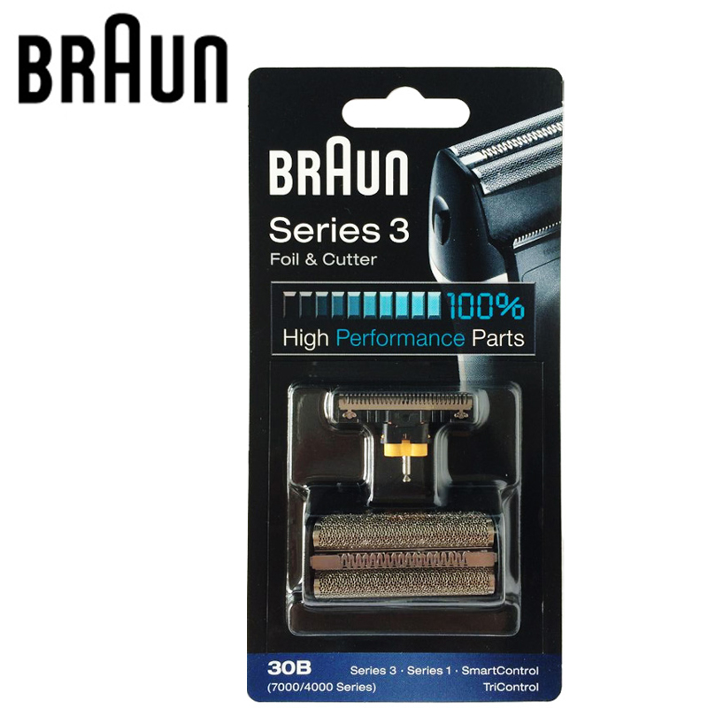 Braun Electric Shaver Blade 30B Replacement for 7000/4000 Series Shavers(Old 310 330 340 , 4775 4835 4875 5746 7630) shaver foil replacement for braun 30b old 310 330 340 5495 5713 fix400 series 3 shaver foil screen for braun 195s 197s 199 5751