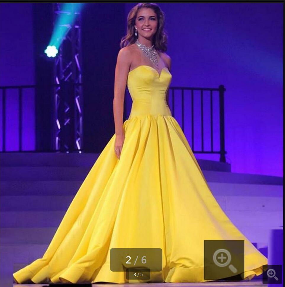 Increíble Vestidos De Dama De Limón Amarillo Cresta - Ideas de ...