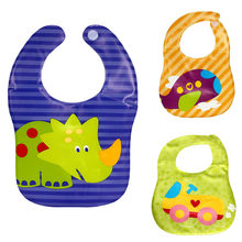 Baby Bibs Waterproof Baby Aprons Bib Infant Saliva Towels Cute Baby Cartoon Bib Baby Slabbetjes Plastic EVA Baberos Bebe #YL1(China)