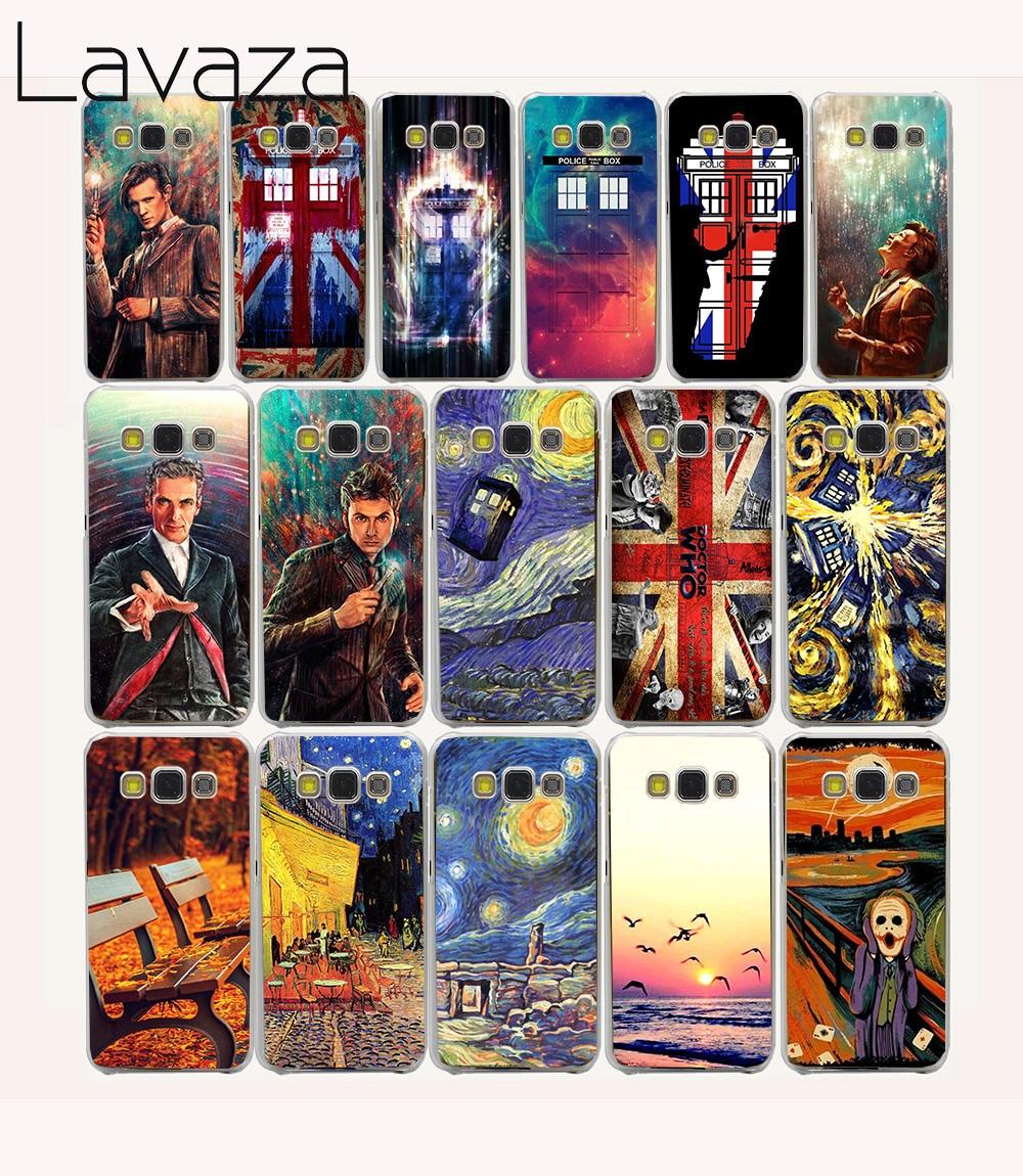 Lavaza 21O Doctor Who Union Jack Tardis Hard Case for Samsung Galaxy Note 8 A3 A5 J1 J3 J5 J7 Prime 2016 2017 2018