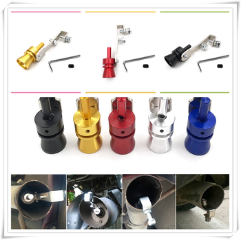 Car Turbo Sound Exhaust Muffler Pipe Whistle Simulator Accessories for BMW E34 F10 F20 E92 E38 E91 E53 E70 X5 M M3 image