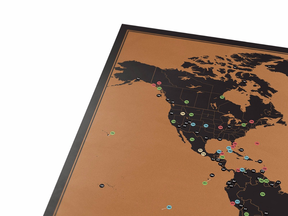 New design adventure scratch off map travelling list black scratch new design adventure scratch off map travelling list black scratch world map poster for home wall decoration 81 in wall stickers from home garden on gumiabroncs Image collections