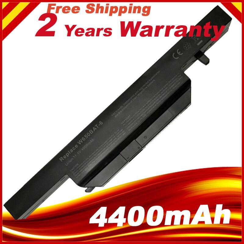 11 1V 4400mAh 48 84Wh W650BAT 6 battery for K610C K650D K570N K710C K590C K750D bateria