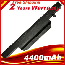 11.1V 4400mAh 48.84Wh W650BAT-6 battery for K610C K650D K570N K710C K590C K750D bateria akku