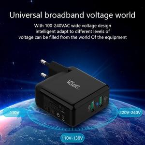 "Image 5 - VVKing USB מהיר מטען 36W הכפול טעינה מהירה 3.0 עבור iPhone Samsung Galaxy Xiaomi Huawei LG QC3.0 טעינת האיחוד האירופי /ארה""ב טלפון מטען"