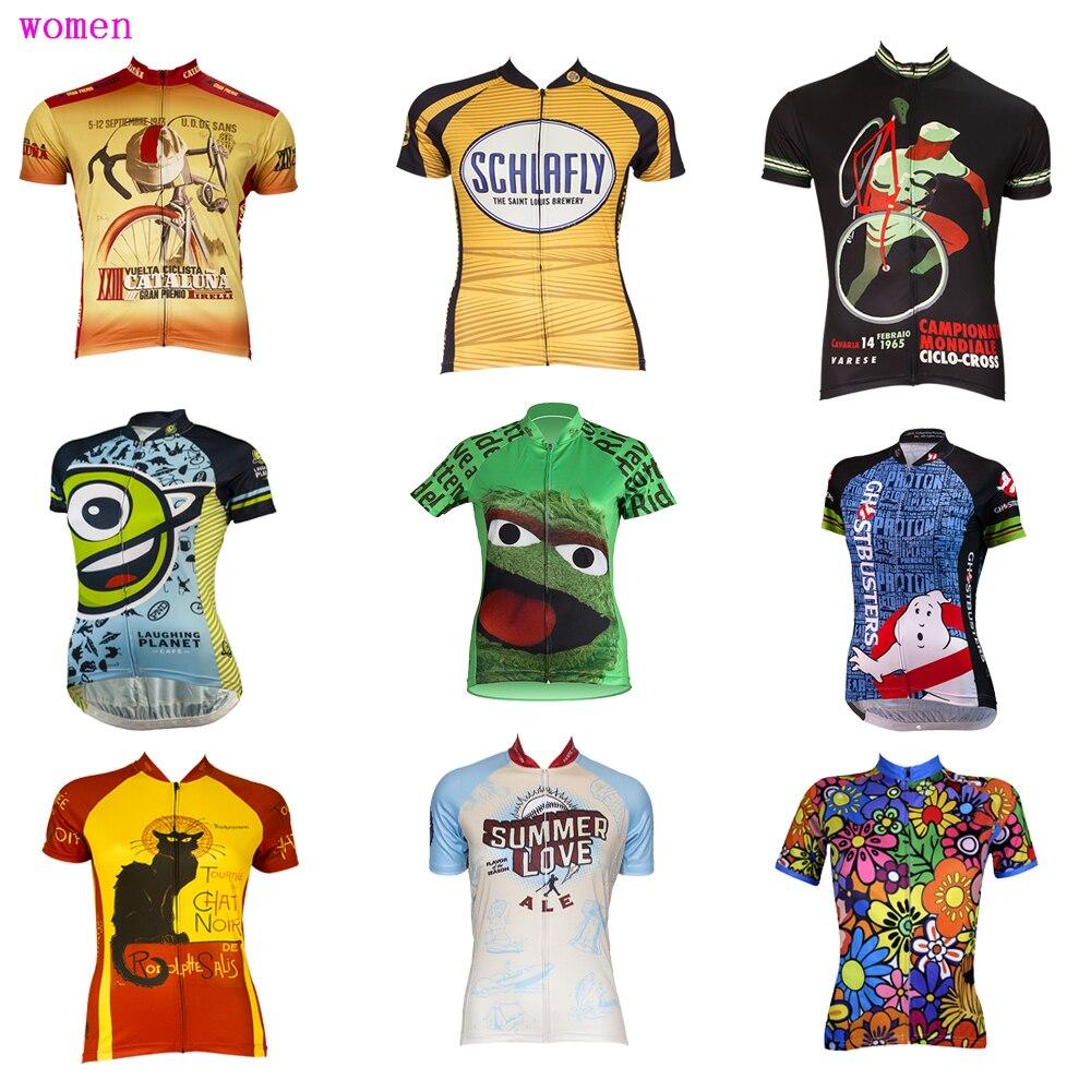 Choix multiples Femmes cyclisme maillot Ropa ciclismo D'été À manches Courtes bike wear mouvement Respirant vêtements de cyclisme VTT