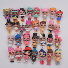 Cute Girls Gift Sister Doll With Egg Doll Accesorios de ropa Vinyl Doll In Ball para niños Babay plastic Gifts doll