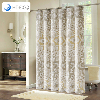 HTEXQ Bestselling Modern Bathroom Shower Curtains Bathroom Bath Shower Curtain bathroom products Bathroom Curtains