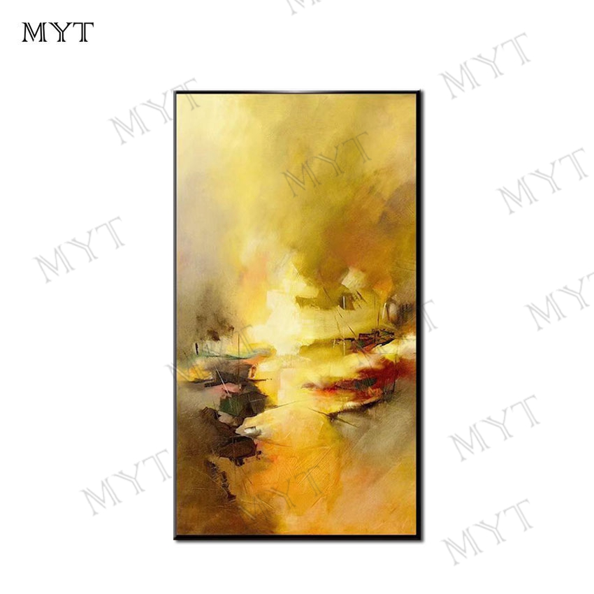 Free Shipping Pure Hand painted High Quality Modern Abstract Figure Oil Painting Unique Abstract Oil Painting for Wall Decor