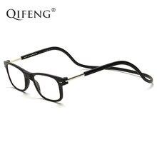 1f1033c3c3 QIFENG gafas de lectura magnética de las mujeres de los hombres dioptrías  de presbicia hombre mujer grado gafas + 1,0 + 1,5 + 2,.