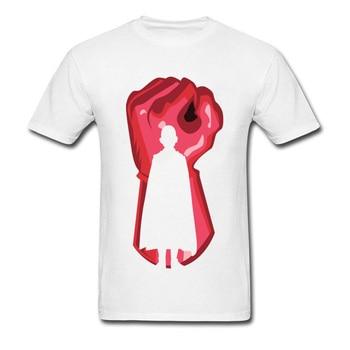 Black Red Outline Tshirt One Punch Man Tshirt For Student Men's Fashion Anime Cosplay T Shirt 90s Cartoon Print T-Shirt 1
