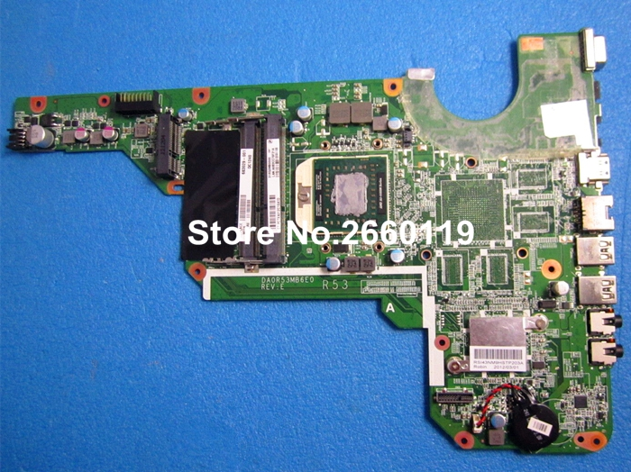 все цены на laptop motherboard for HP G4-2000 G6 G7 683029-001 DA0R53MB6E0 system mainboard, fully tested онлайн