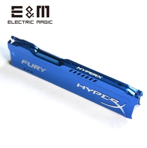 E & M кулер для оперативной памяти, радиатор, охлаждающий жилет, плавник, теплоотвод, излучение, Fury Hyper X PC MOD DDR DDR3 DDR4