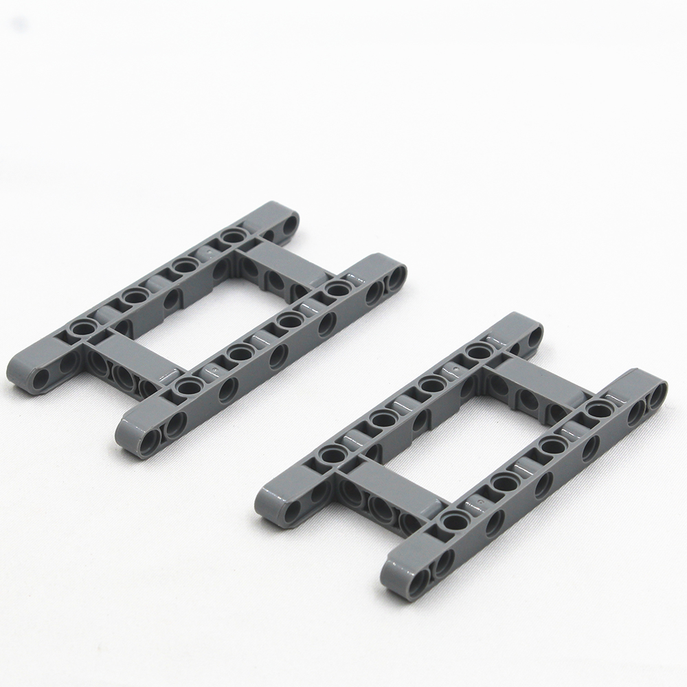 Self-Locking Bricks Free Creation Of Toy  MOC Technic Parts BEAM R. FRAME 5X11 DIA4.85 2Pcs Compatible With Lego