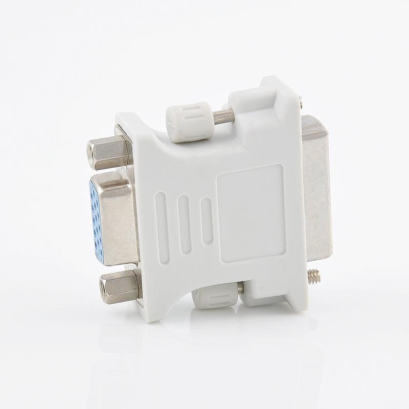High Quality VGA 15 Pin PC Laptop Female to 24+1 pin DVI-D Male Adapter Converter Wholesale Mayitr