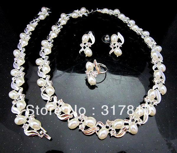 Brautschmuck set perlen creme  Preis auf Bridal Bracelet Pearl Vergleichen - Online Shopping ...
