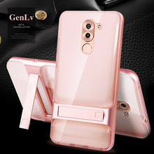 Case For Huawei Honor 6X Case Luxury Protective Armor Phone Shell Brand Back Cover For Huawei GR5 2017 / Mate 9 Lite Case