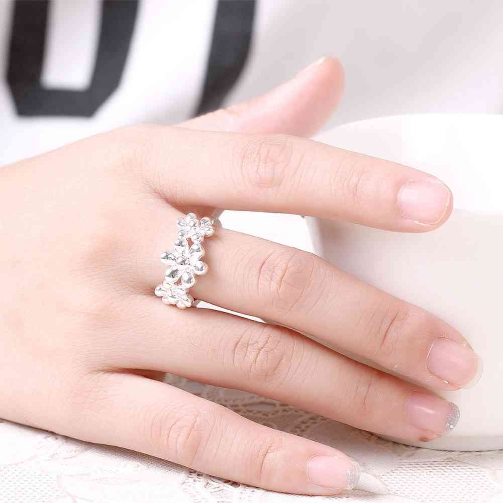 Aliexpress.com : Buy Hot Selling silver plated wedding rings 6 ...